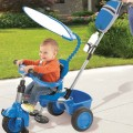 little-tikes-super 3-in-1 tricycle with accessories blue